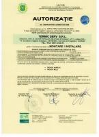 Autorizatie TERMIC SERV SRL